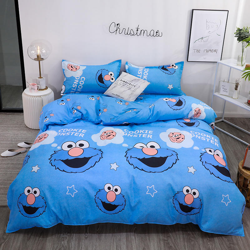 Milsleep Bedding Sets Duvet Cover Set with Pillowcase Single Double King Size Soft for Home Textile of Bedding Set Cover