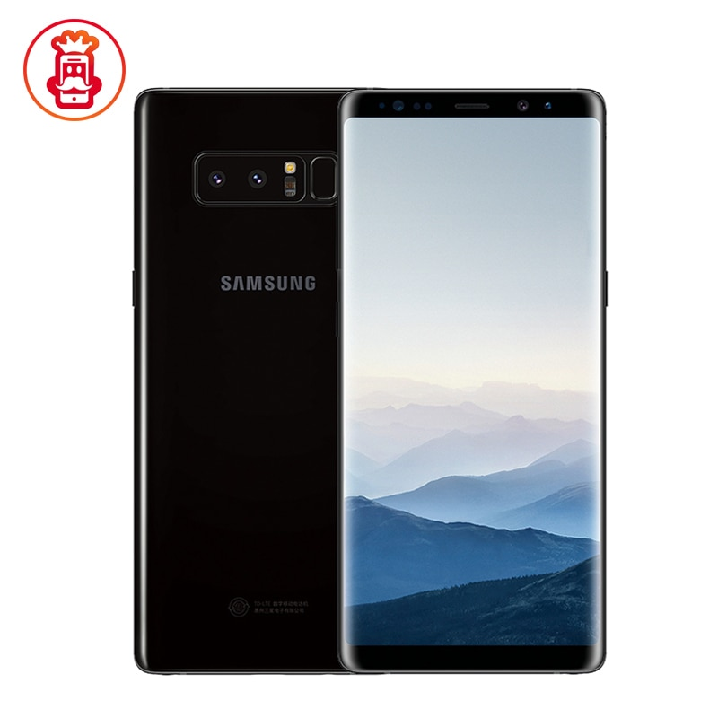 "Original Samsung Galaxy Note8 Nota 8 N950U del teléfono móvil 4G LTE 6GB RAM 64GB ROM Snapdragon 835 Octa Core 6,3 ""NFC teléfono usado"