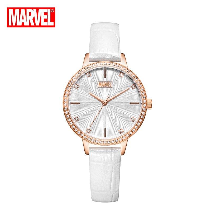 Original Marvel Ladies Quartz Watch Belt Casual Simple Diamond Watch Women Watches Luxury Watch Ladies Watches 2020 enlarge