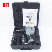 12 pneumatic wrench spanner key professional air tools auto repair tools wrench kit 680 900n m