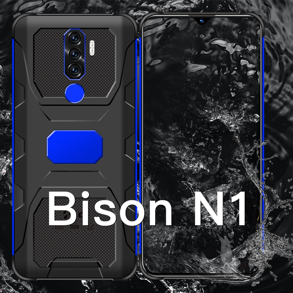 Global Hot Selling Bison N1 Smartphone Qualcomm 888 7.0 HD 16G 512GB 6800mAh Face Recognition 1511 B
