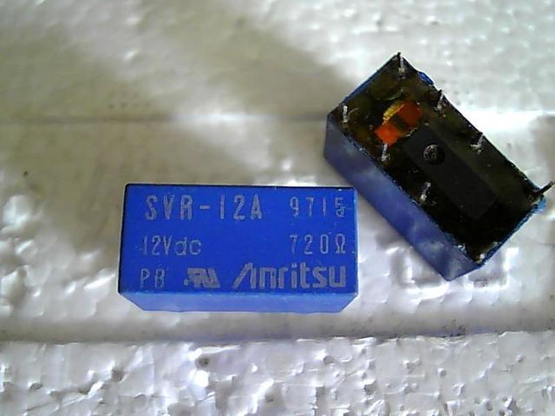 SVR-5A 5VDC 720 European eight-legged relay