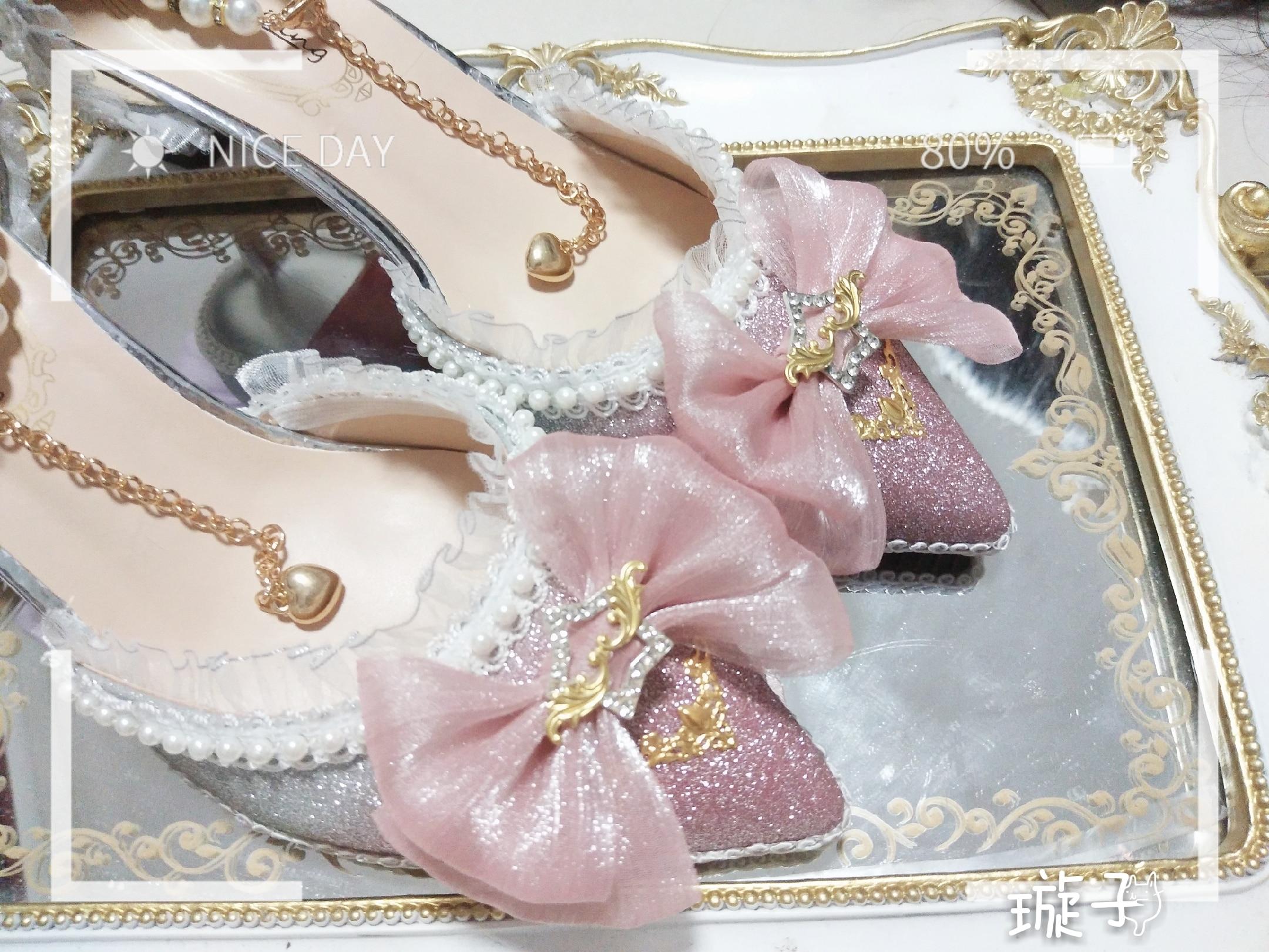 Sweet lolita zapatos vintage cabeza redonda zapatos de tacón bajo para mujer cute bowknot Cruz vendaje kawaii zapatos loli cosplay kawaii chica