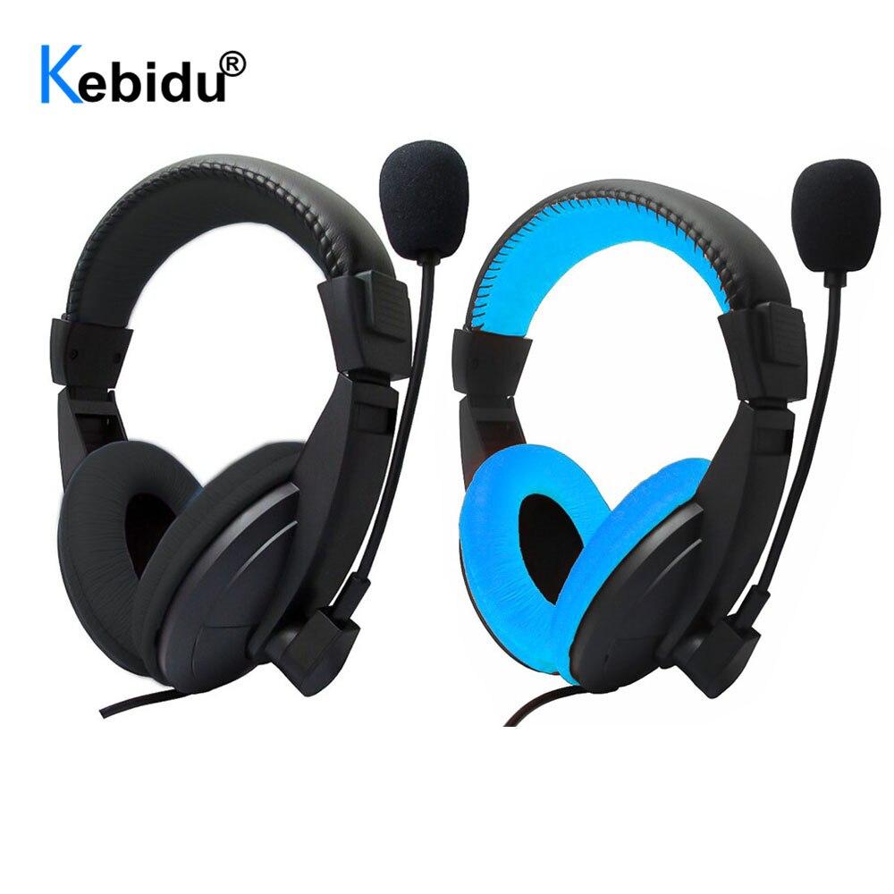 Juegos de ordenador con cable de 3,5mm, auriculares estéreo, auriculares con micrófono de juego para PC, Skype, MSN, PS4 Play Station 4