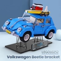 acrylic display stand compatible for 10252 beetle creator expert toys not include the model