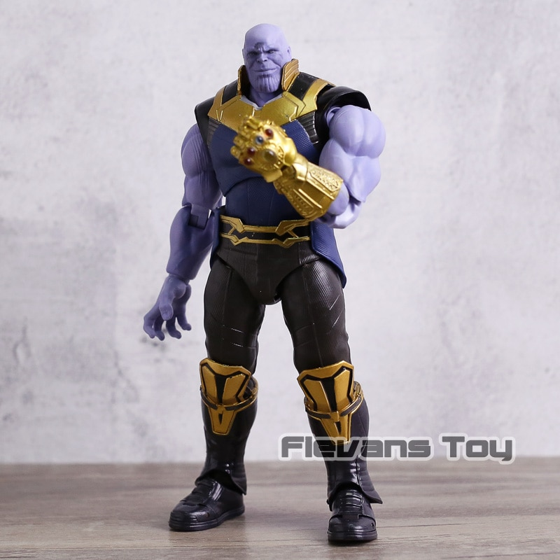 SHF Iron Man Captain Marvel America Star Lord Doctor Strange Thanos Ant Man Black Widow Hulk Thor Action Figure Toy