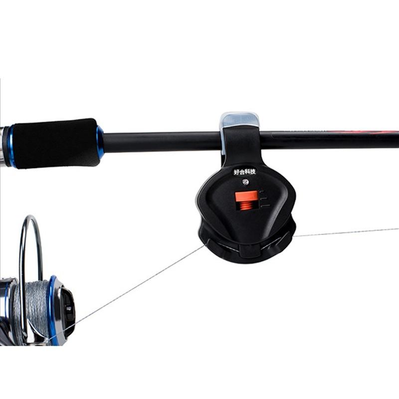 Luz LED electrónica de pesca, campana de alarma de sonido para morder de pez, pinza de volumen para caña de pescar, aparejos de pesca, envío de nosotros