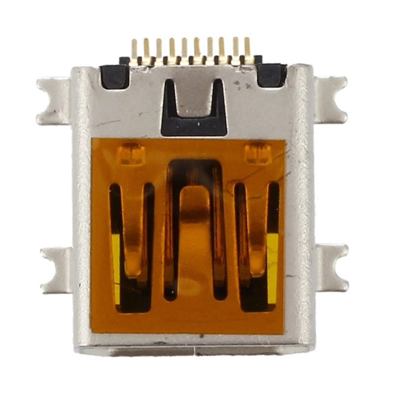 10 Uds hembra Mini USB tipo B 10 Pin SMT SMD montaje Jack Puerto conector