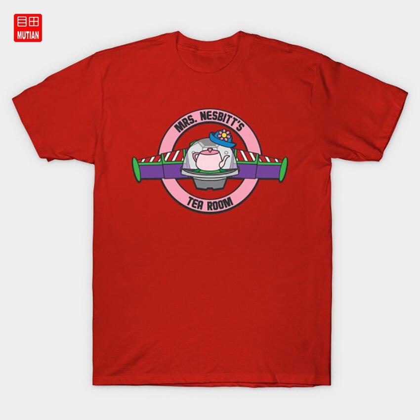 Camiseta de la señora Nesbit para cuarto de té, señora Nesbitt Wdw vacaciones Wdw parejas Midway Mania Hollywood estudios al infinito y más allá Wdw