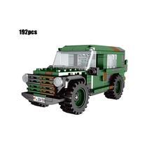1:30 scale across battlefield germany LKW gl leicht Wolf  Interim Fast Attack vehicle moc batisbricks block WW2 jeeps brick toy
