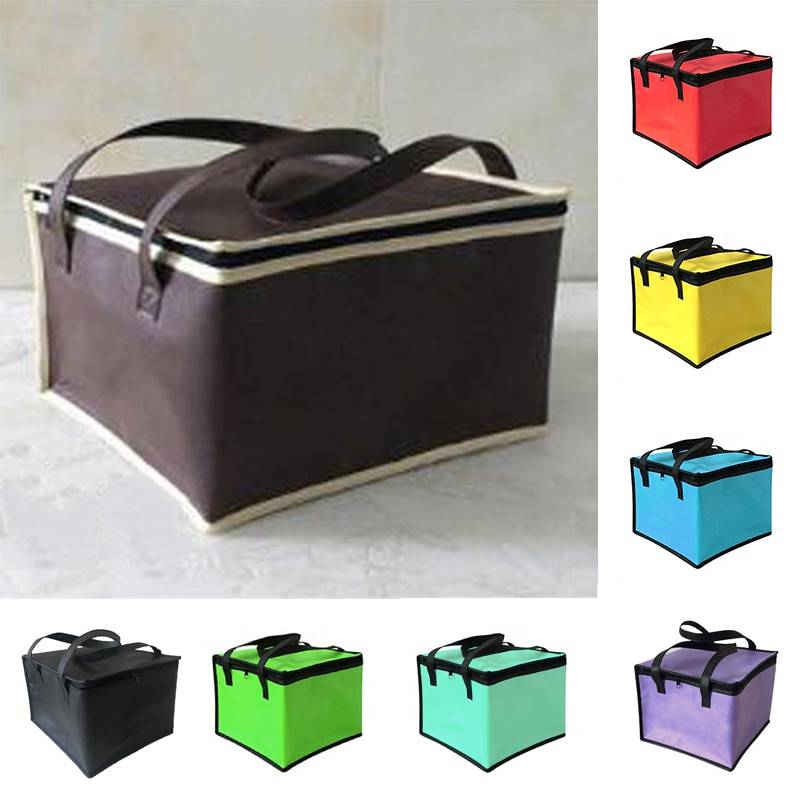 AliExpress - 1PC Reusable Grocery Insulated Cooler Bag Aluminum Foil Thermal Box Large Shopping Box Insulated Bags With Zippered Top