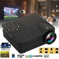 Mini projecteur LED Portable HD 3D  1080P  video pour Home cinema  multimedia