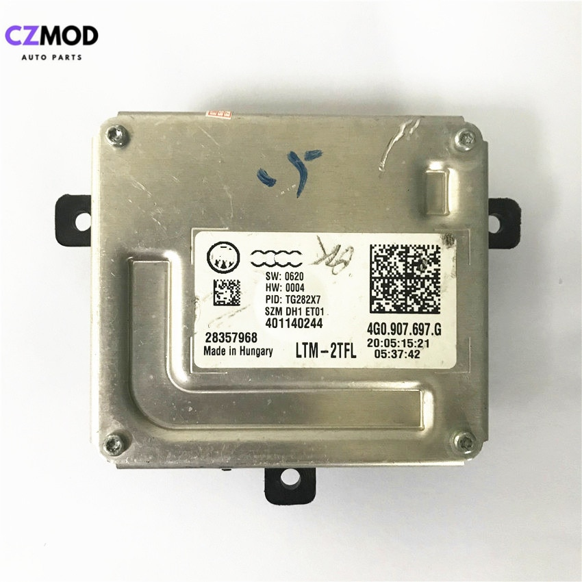 CZMOD Original 4G0.907.697.G faros de LED DRL módulo de controlador matriz 28357968 4G0907697G accesorios para coche (usado)