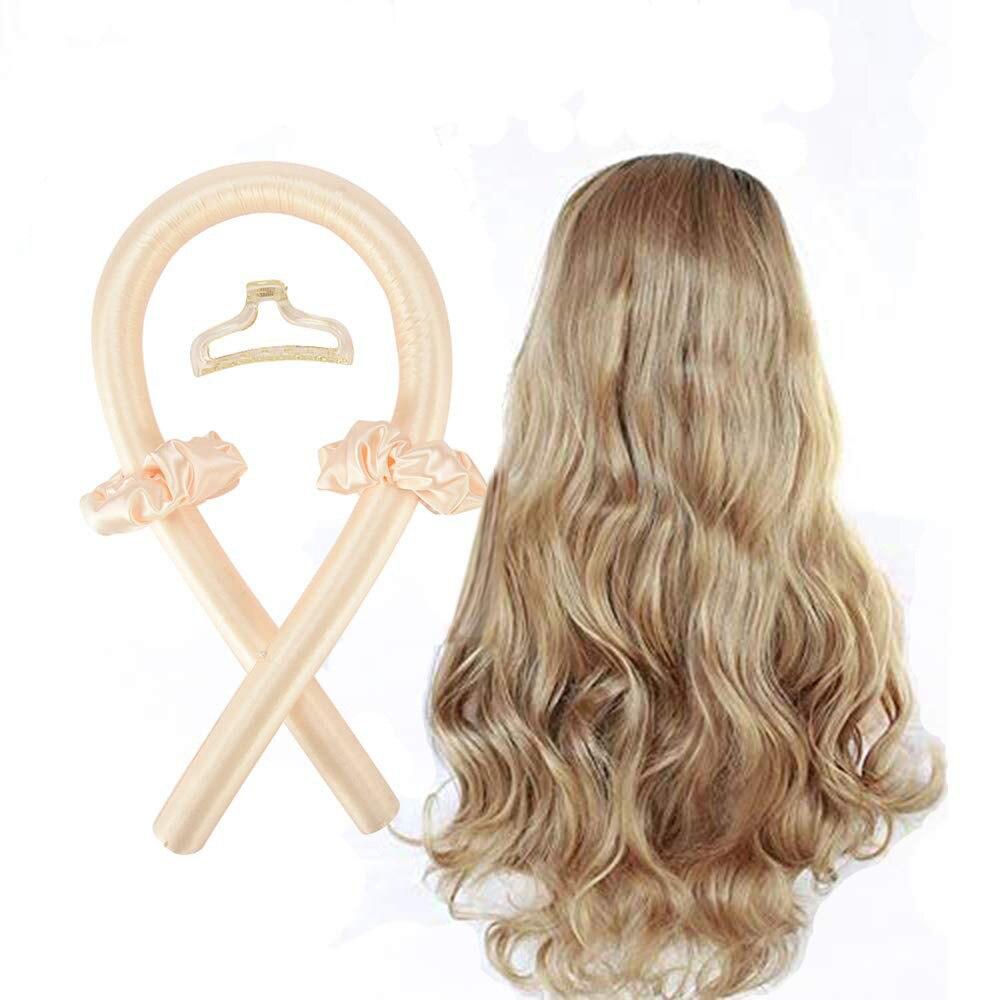 Heatless Curling Rod Headband No Heat Curls Ribbon Hair Rollers Sleeping Soft Headband Hair Curlers