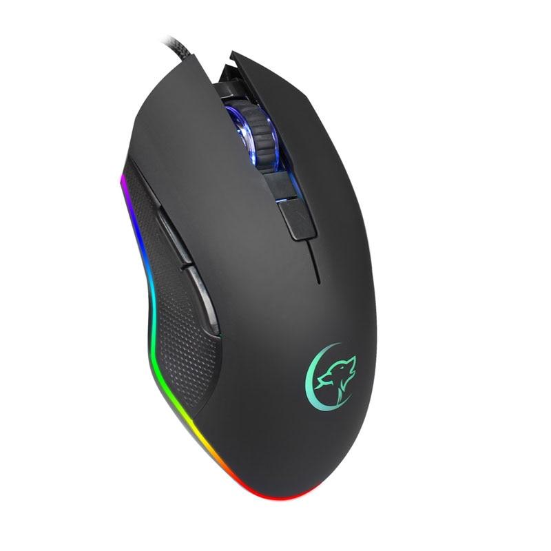 G812 משחק אופטי Wired עכבר אור הנשימה צבעוני מקצועי משחקי עכבר EM88