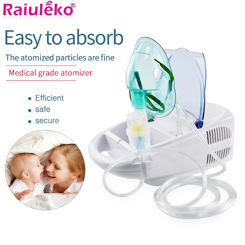 Nebulizador ultrasónico casero, inhaladores portátiles, nebulizador, descarga de niebla, inhalador de asma, compresor de medicina respiratoria