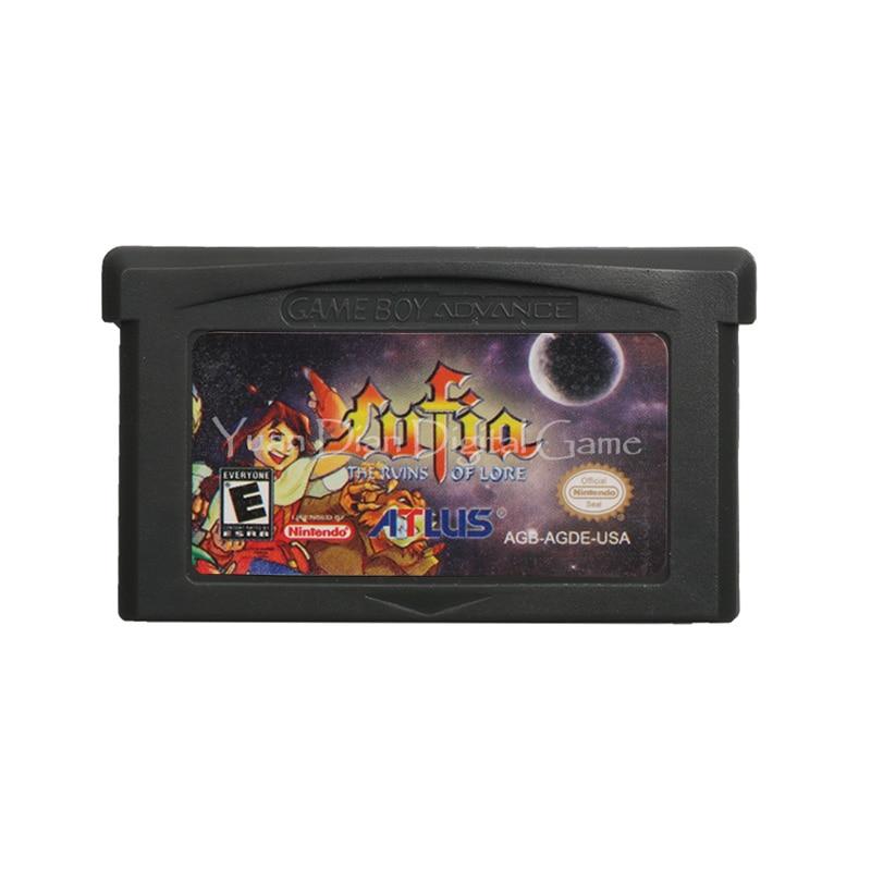 Cartucho de videojuegos para Nintendo GBA, tarjeta de consola de videojuegos, Lufia,...