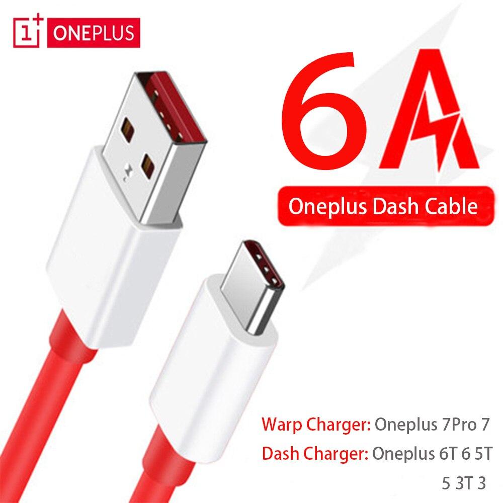 Oneplus Dash tipo C cable USB 3,1 rápido de cable de carga rápida de 1 m/1,5 m/2 m/3 m Oneplus Warp cargo 5V6A Cable de tipo c