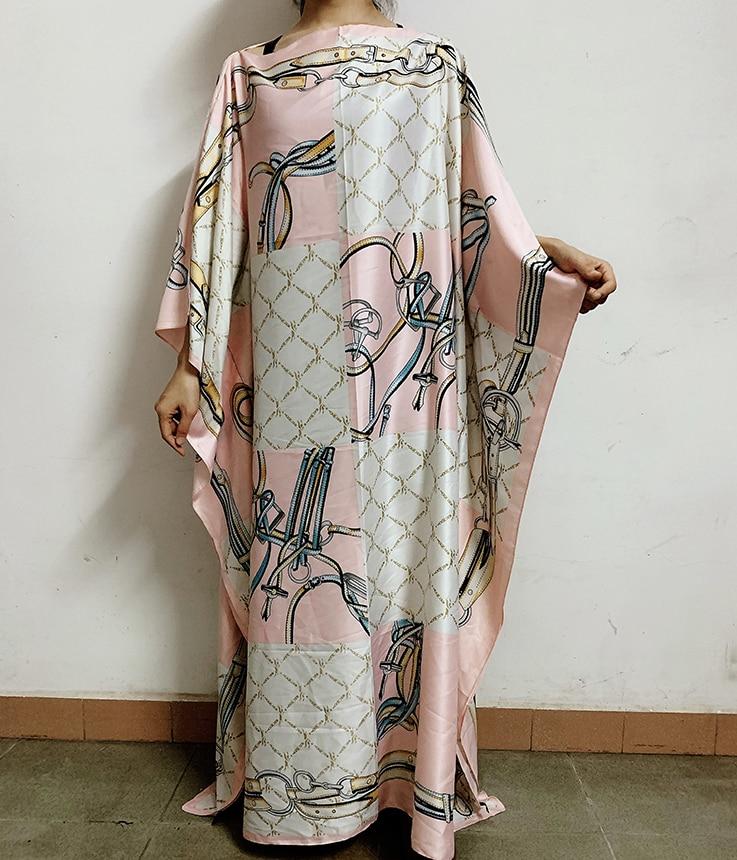 Vestido caftán de seda estilo de moda de Kuwait, vestido caftán de seda estilo africano Dashiki, vestido caftán de seda africano, ropa africana