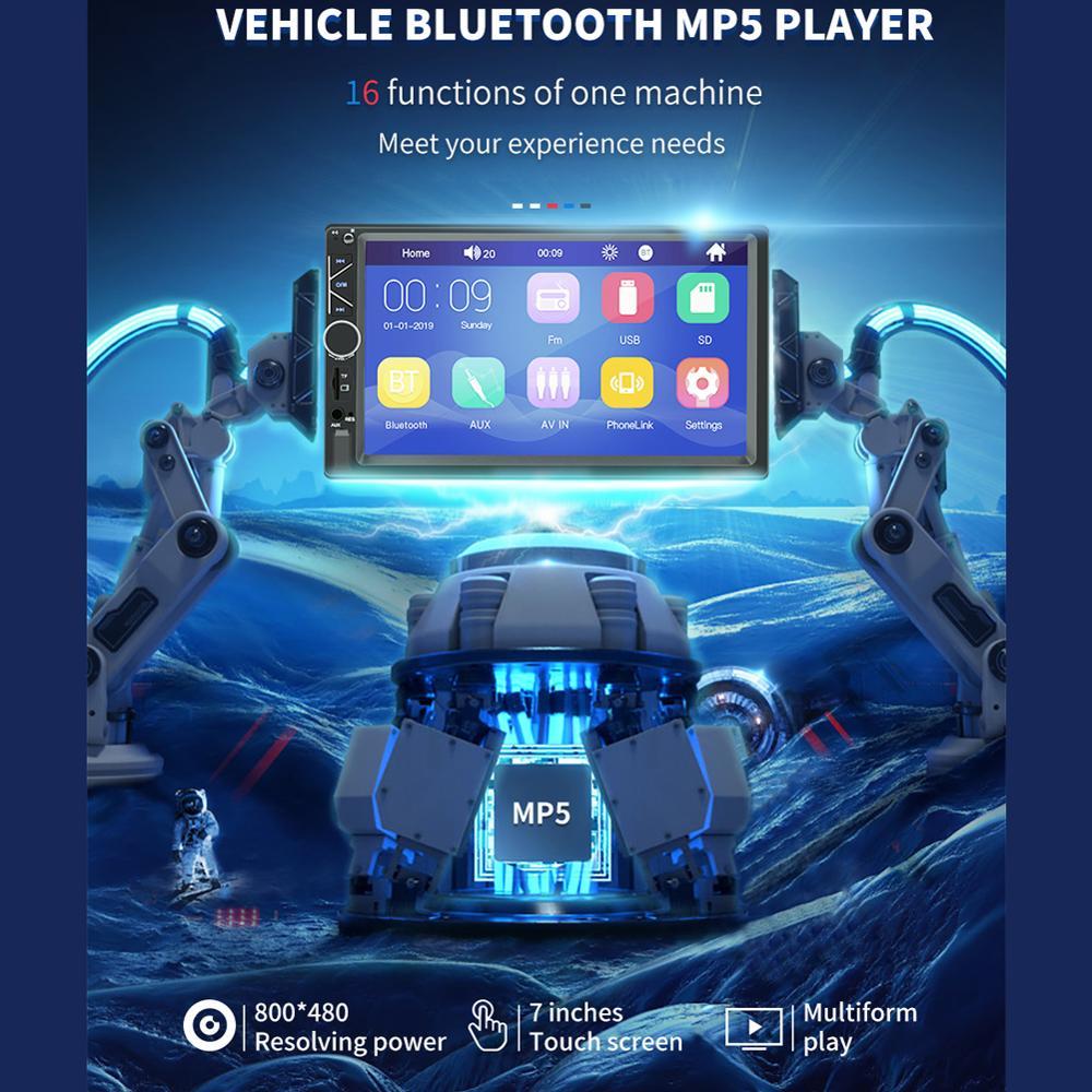 Автомобильный мультимедийный плеер авторадио стерео 7