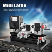 TZ20002MG 60W Mini tour à métaux B Machine avec 12000r/min moteur plus grand rayon de traitement outils de bricolage
