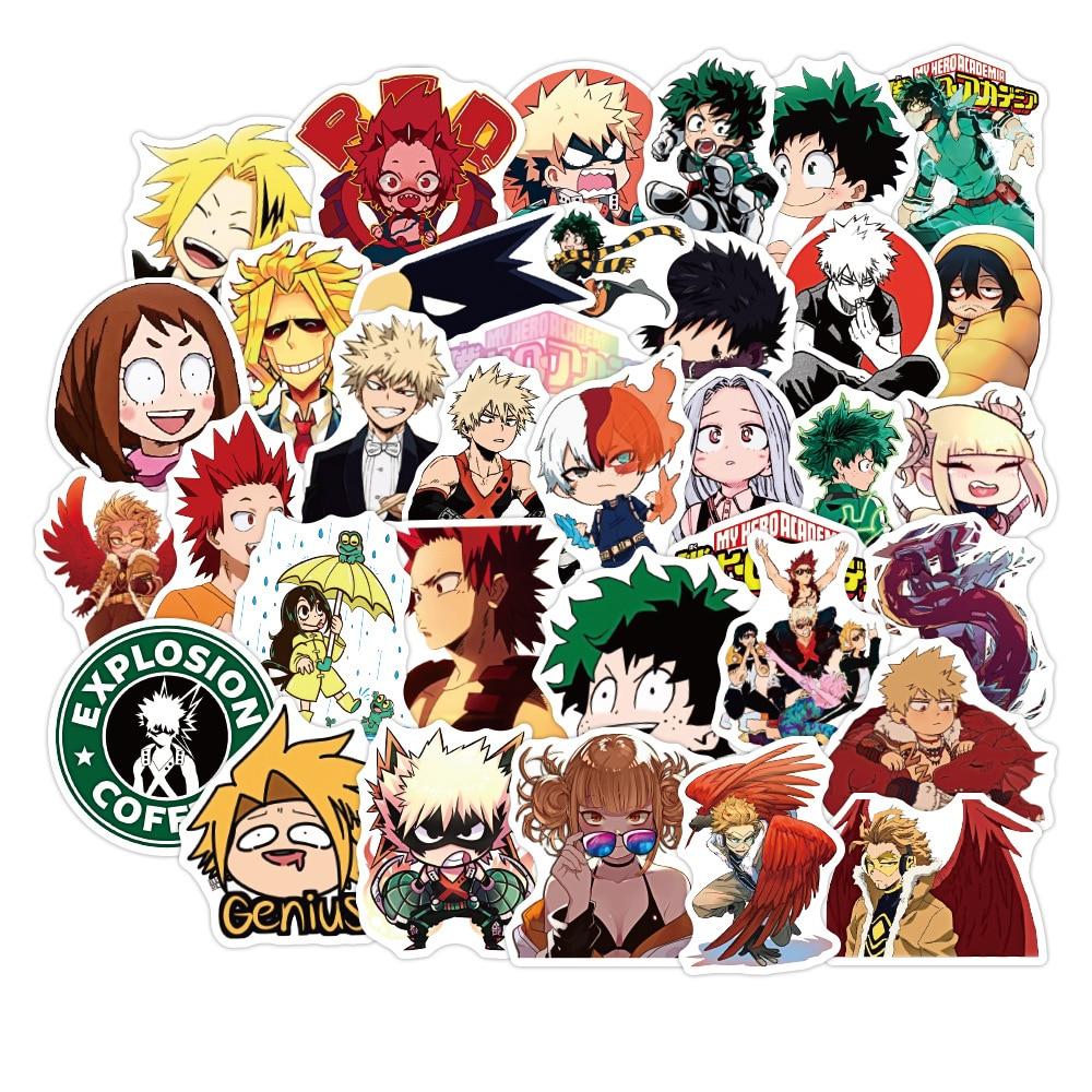 pegatinas-de-my-hero-academia-para-maletas-pegatinas-para-izuku-midoriya-de-skateboard-portatil-boku-no-hero-academia-pegatina-de-personaje-de-anime-10-50-uds
