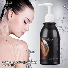 NILLCE 2020 NEW 250ml dark skin cream whitening body cream 300ml body lotion whitening moisturizing cream set for women&men