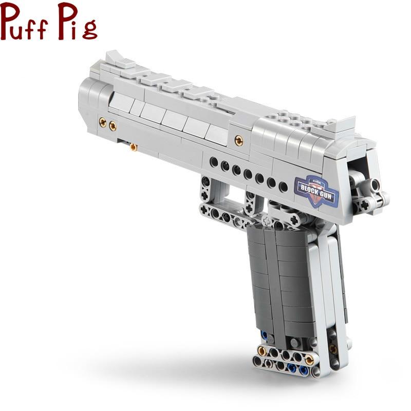 307pcs The Click Gun Model Building Blocks Assembled Toys Simulation CS Adventure Game Gifts for Boys Wholesale