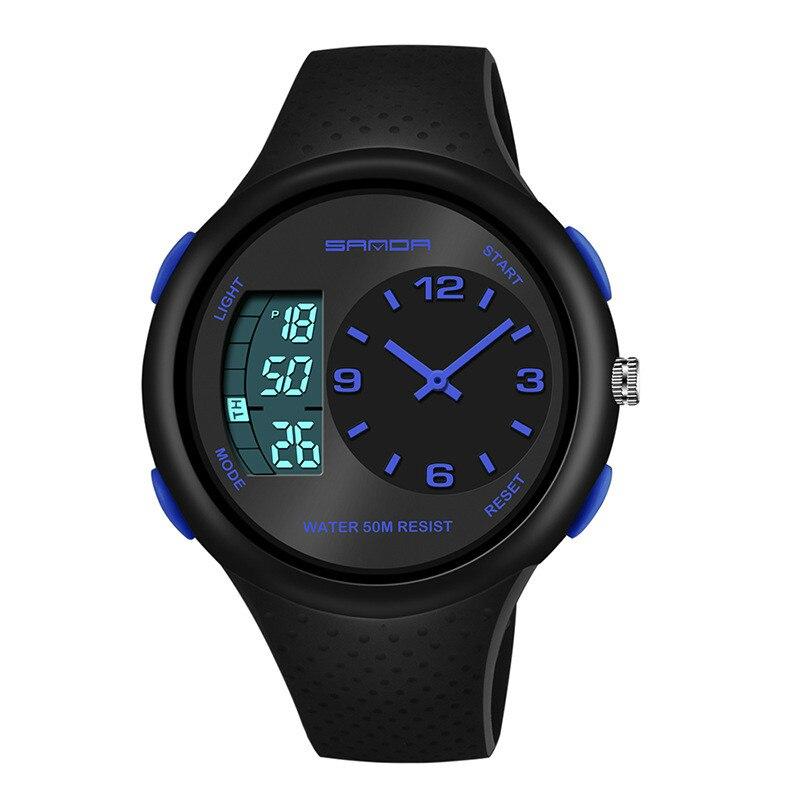 Men's Waterproof kid Watch Explosion Style Multifunctional Luminous Outdoor Sports Personalized Electronic Watch Digital Luxury enlarge