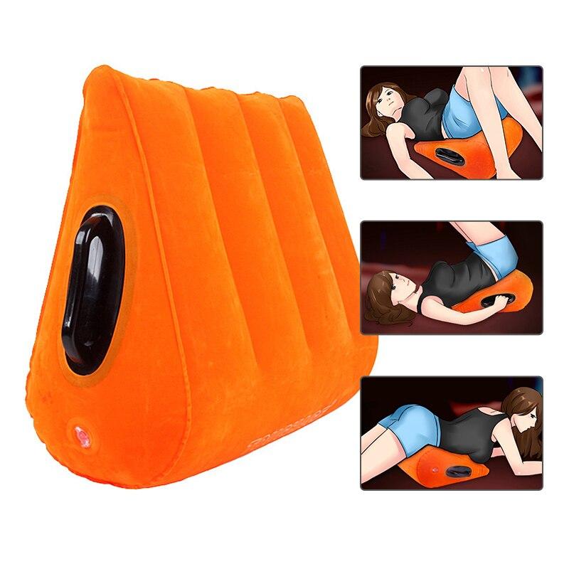 Надувная подушка для секса, подушка для взрослых, игрушки для взрослых, инструмент для секса для пар, секс-игрушка
