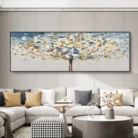 abstract tree blossom canvas painting modern creative pop wall art bedroom for living room decoration home decor picture cuadros