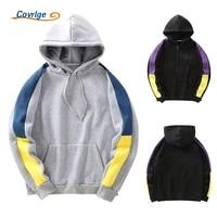 covrlge mens casual o neck long sleeve harajuku sweatshirts men new fashion hoodie patchwork sweatshirt for young men mww328