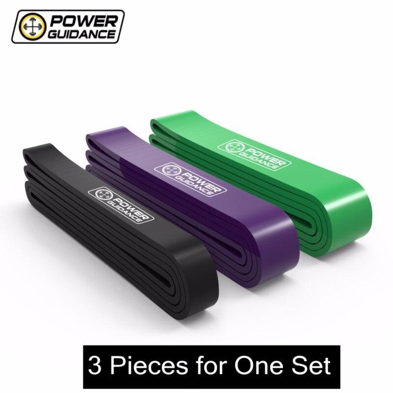 Orientação de energia 3 pçs/set faixas de resistência de borracha látex de fitness elástico para equipamentos de fitness faixa de energia treino treinamento