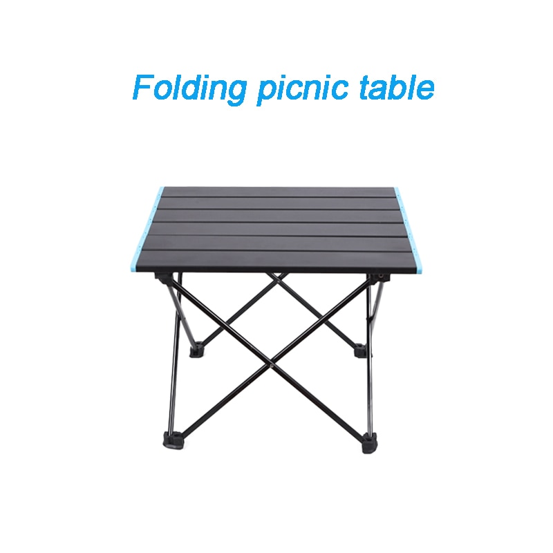 Outdoor Folding Table Aluminum Alloy Camping Picnic Table Folding Portable Table Barbecue Table Stall Small Dining Table