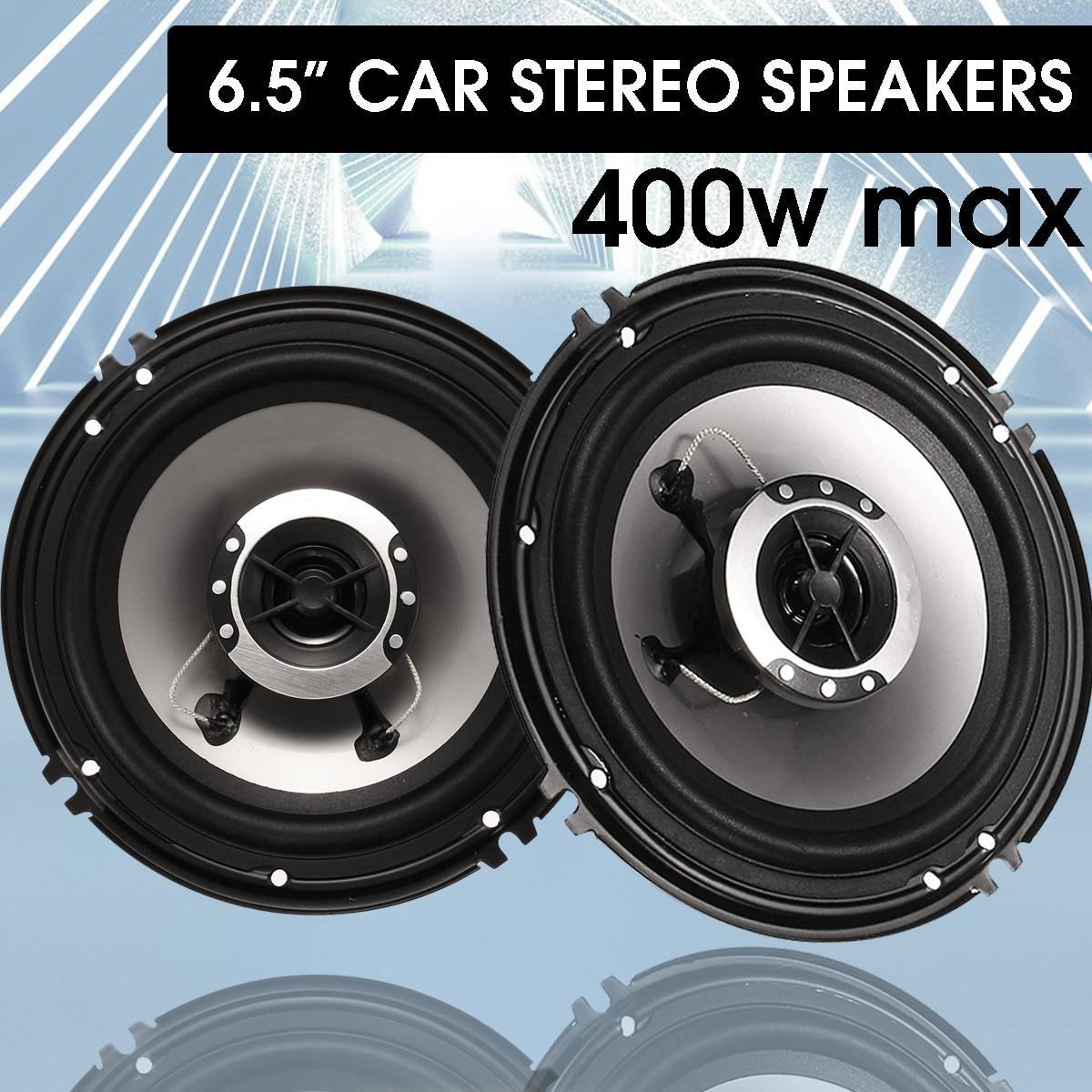 2 pçs 6.5 Polegada 400 w alto-falante de áudio do carro 4 vias coaxial alto falante universal veículo auto áudio música estéreo alta fidelidade altifalante