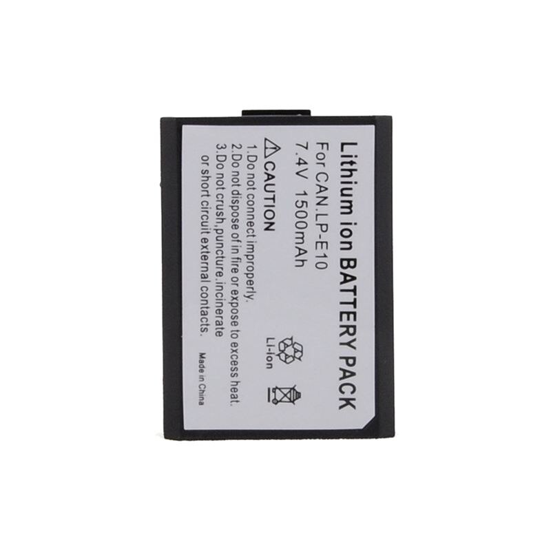 Bateria 1500 mAh Para Canon EOS LP-E10 LPE10 1100D 1200D REBEL T3