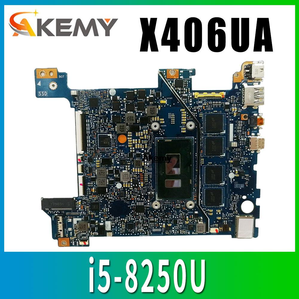X406UA اللوحة الأم i5-8250U لشركة آسوس X406UA X406UAR اللوحة الأم X406UA اللوحة الرئيسية (تبادل)!!