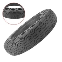 10x2 125 solid tyre electric scooter rubber explosion proof anti skid durable honeycomb hollow tires kick scooter spare parts
