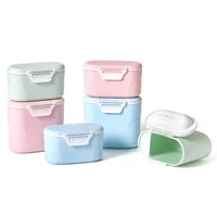 baby storage feeding box for kids food pp box formula milk storage infants portable milk powder formula dispenser food container