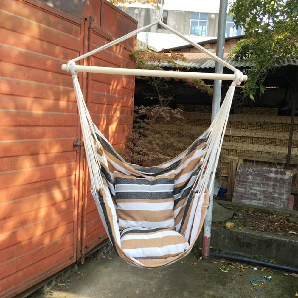 Портативное кресло-гамак, подвесное веревочное кресло-качели, стул для сада, улицы и помещений, модные качели-гамаки, Прямая поставка