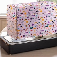 dust cover for sewing machine waterproof durable cloth protective cover with pockets sewing accessories storage bag organizer