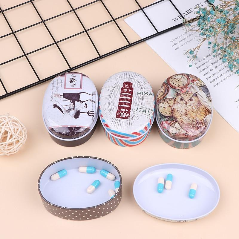 Caja de jabón en forma de caja de almacenamiento boda Favor caja de hojalata Cable organizador personalizado Cable contenedor Casa de maquillaje pirata caja