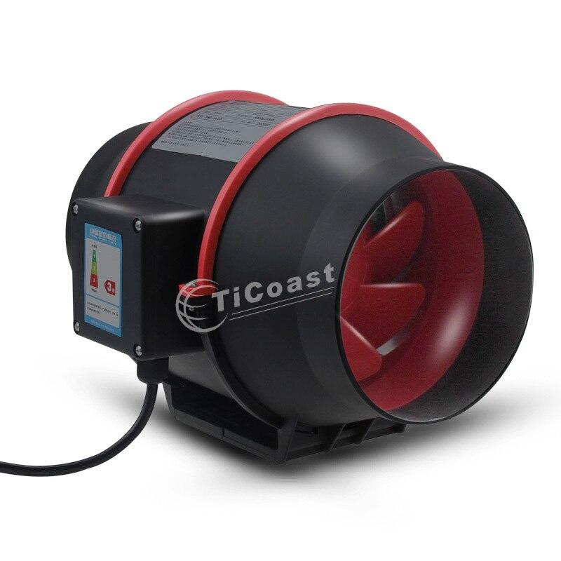 4 بوصة مروحة لاصقة مدمجة نظام العادم منفاخ الصامت إكستراتور مروحة للحمام المرحاض المطبخ الهواء Ven الداعم