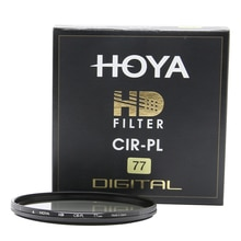 Hoya HD CPL 67mm 72mm 77mm 82mm filtre polarisant/polarisant CIR-PL multicouches de protection pour objectif de caméra