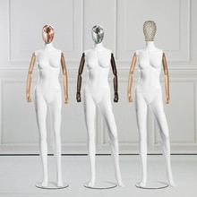 Maniquí femenino de la mejor calidad con brazos móviles modelo Flexible personalizado