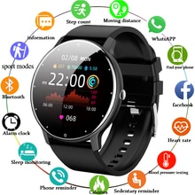 LIGE 2021 New Men Smart Watch Real-time Activity Tracker Heart Rate Monitor Sports Women Smart Watch