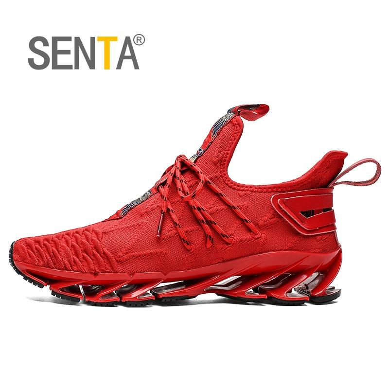 SENTA hoja 2020 zapatos de los hombres Atlético profesional zapatillas Super luz deporte caminando de amortiguación Zapatos Deportivos