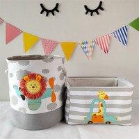 Складная корзина для хранения игрушек