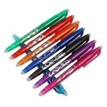 8 TEILE/LOS kawaii Löschbaren Stift Geeignet Refills Bunte 8 Farbe Kreative Zeichnung Werkzeuge Nette Gel Stift Sets Schule Büro Schreibwaren