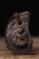 home decor 3tibet buddhism old bronze engraved green tara statue amulet pendant exorcism ward off evil spirits